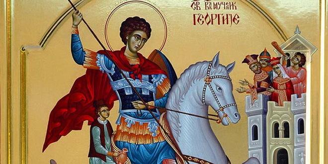 Српска православна црква и верници прослављају Ђурђевдан