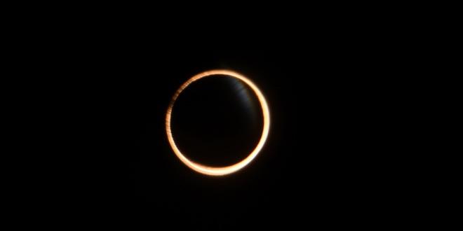 Делимично прстенасто помрачење Сунца 21. јуна ујутру