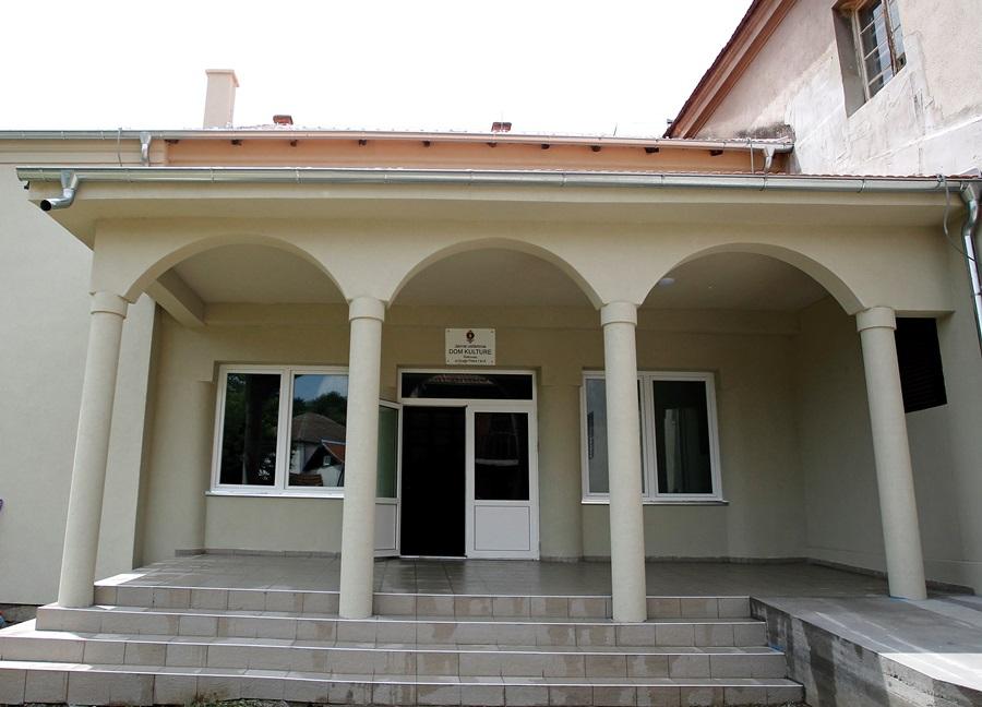 ЕУ подржала реконструкцију Дома културе у Рековцу