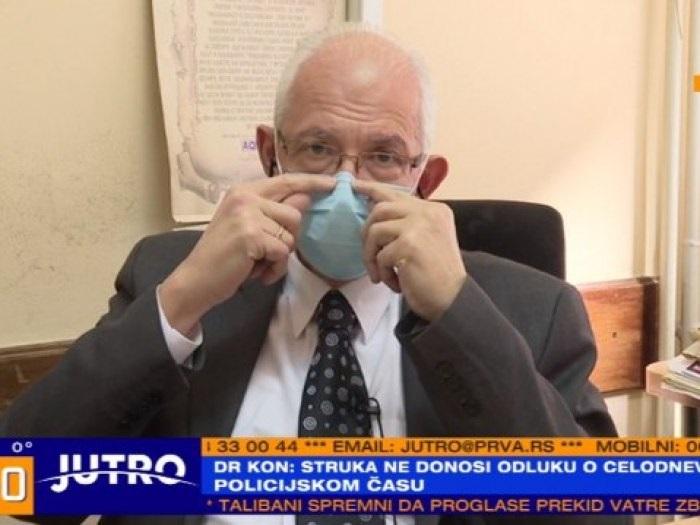 Кон: Ванредно стање није опција, најпаметније носити маске