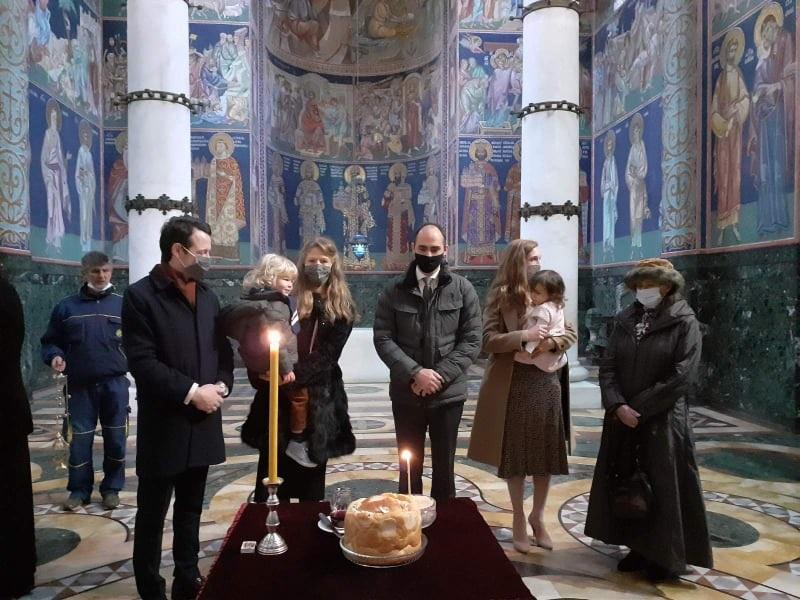 Карађорђевићи на Опленцу  обележили крсну славу