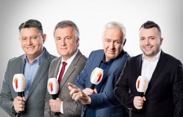 Ово је препознатљива и  сјајна екипа репортера Прве ТВ