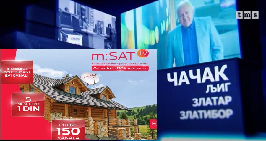 Дневник западне Србије на сателитској платформи Телекома биће од понедељка видљив у целој Србији