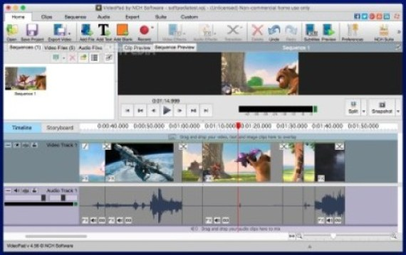 VideoPad Video Editor 8.00 Crack