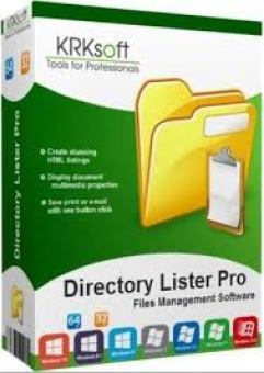 Directory Lister 2.34 Serial Key Incl Crack (32 /64) Bit Windows Full Download