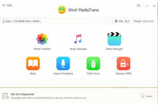 WinX MediaTrans 6.8 Crack