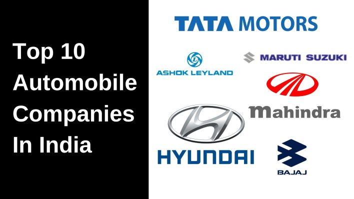 top 10 automobile companies in india (2021)