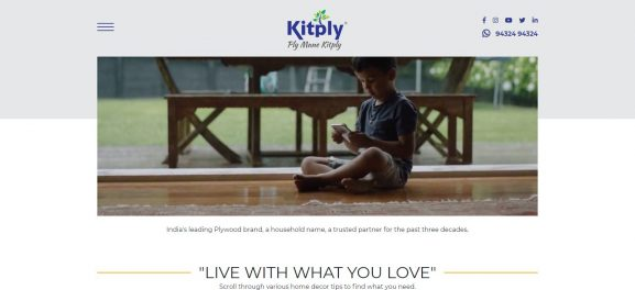 Kitply Industries Limited: Plywood Brand