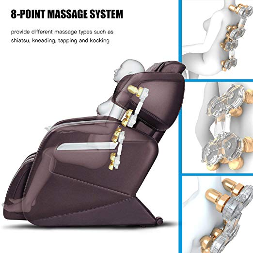 Full Body Zero Gravity Electric Massage Chair info