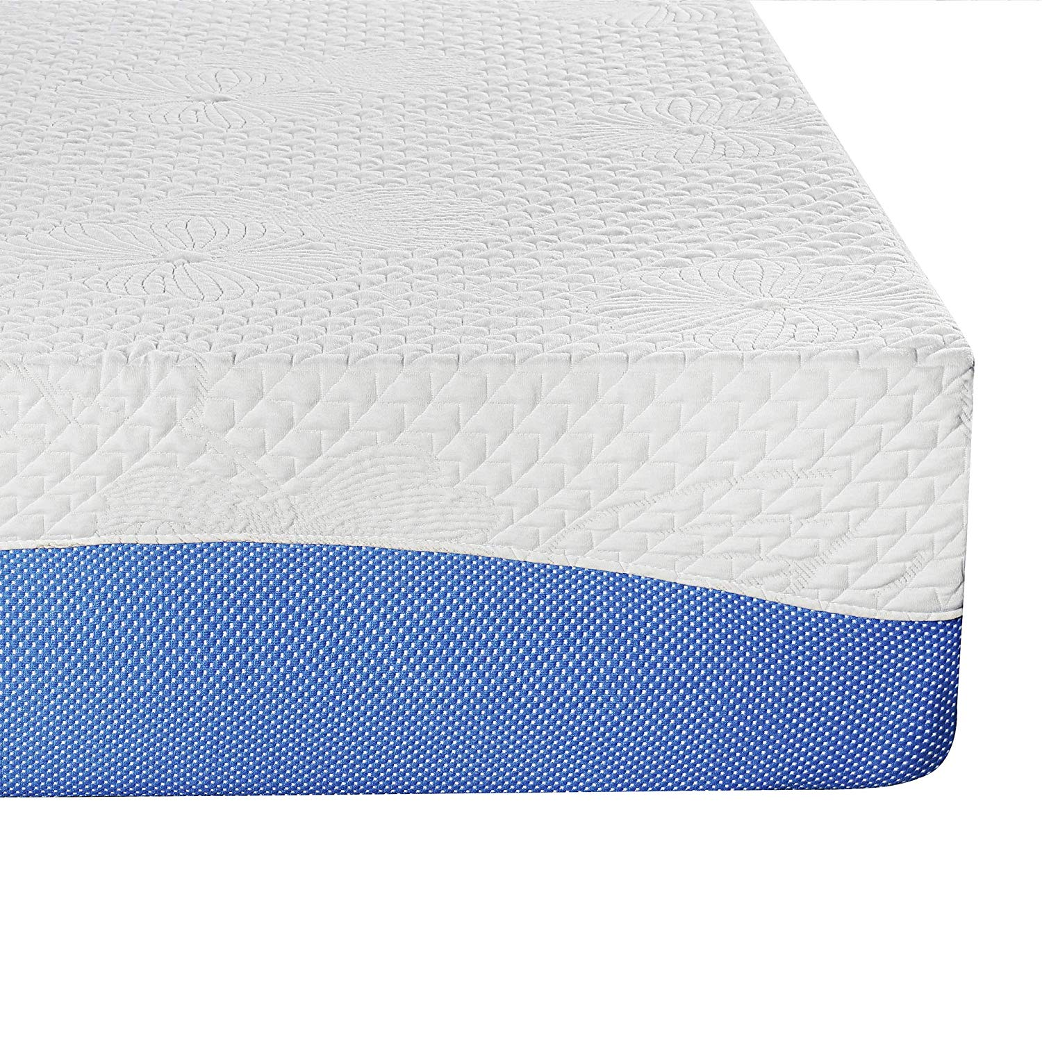 Olee Sleep 10 Inch Gel Infused Layer Top Memory Foam