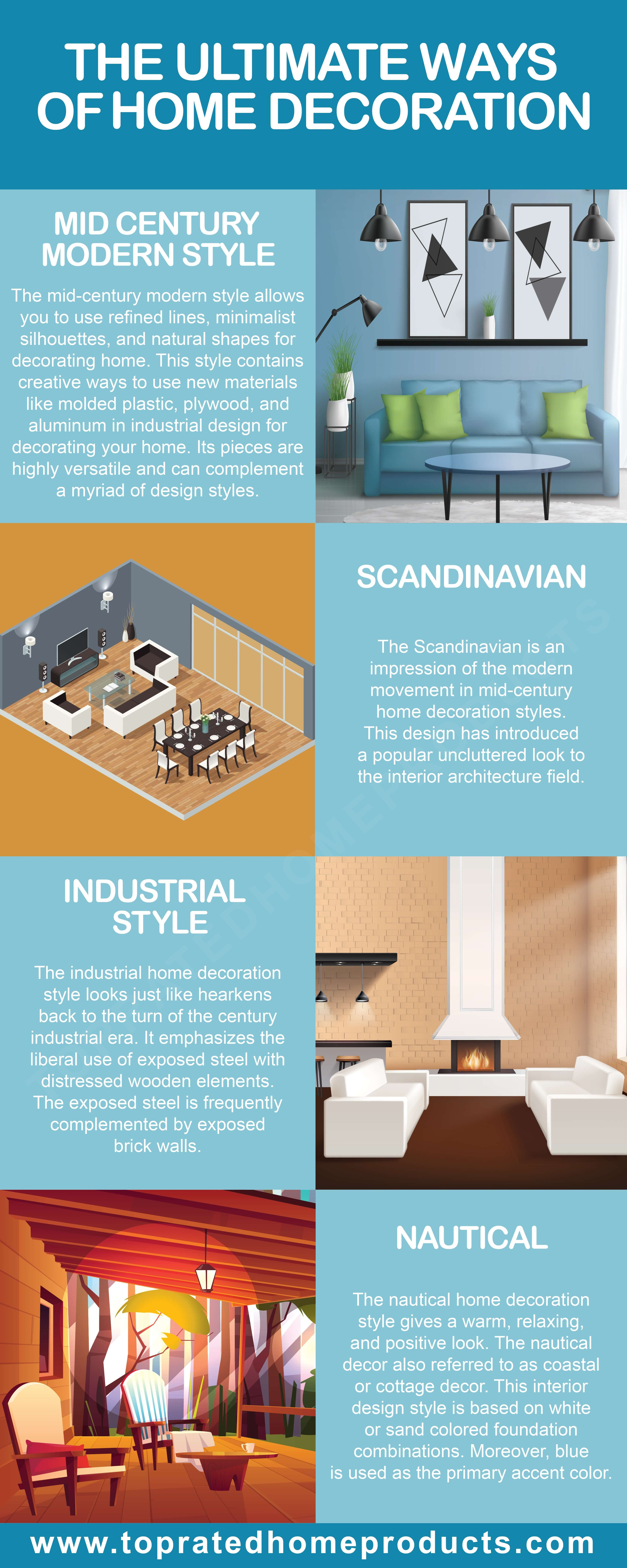 Ultimate ways of decorating your entire home - TopratedHomeProducts