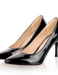 basic black petite heels