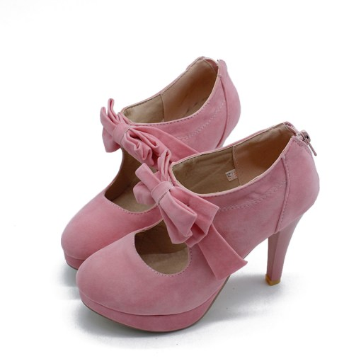 pink size 3 boots