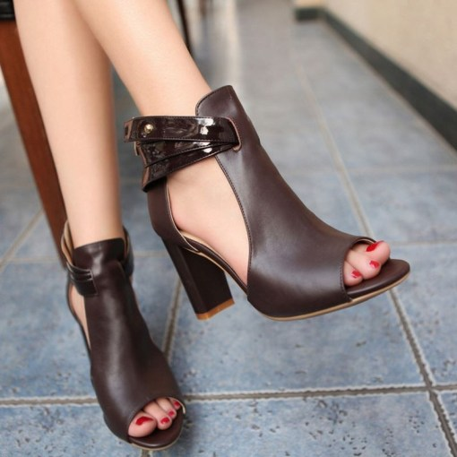 size 3 genuine leather boots