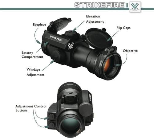 Red/Green Dot with Vortex Optics Baseball Hat