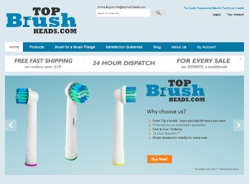 Top Brush Heads