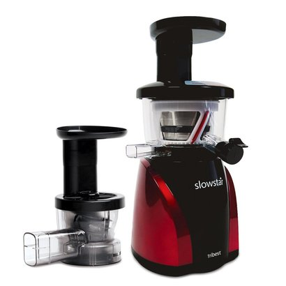 tribest slowstar sw-2000-b vertical slow juicer and mincer