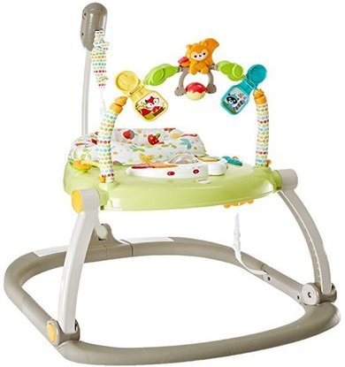 fisher-price cbv62 woodland friends space saver jumperoo