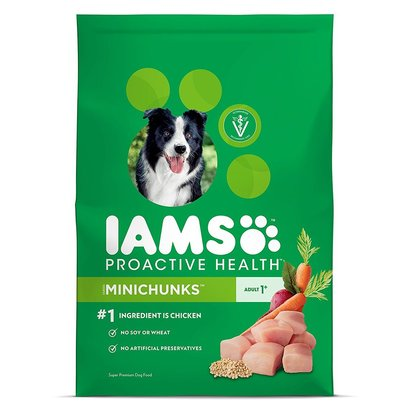 iams proactive health adult minichunks super premium dog food made with real wholesome ingredients 30 lbs