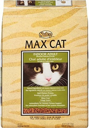 nutro max cat indoor adult roasted chicken flavor dry cat food 16 pounds