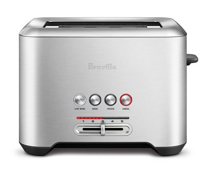breville bta720xl the bit more 2-slice toaster of stainless steel