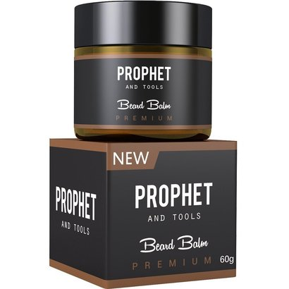 prophet and tools premium beard balm 2 in 1 conditioner and wax