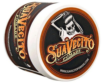 suavecito original hold pomade, hair styling water based product for men