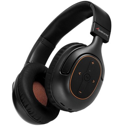 alpatronix hx101 bluetooth 4.1 stereo headset with built-in microphone, high definition sound aptx and cvc 6.0 noise cancellation includes hard case
