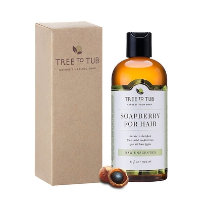 tree to tub soapberry for hair nature's shampoo from wild soapberries for all hair types raw unscented