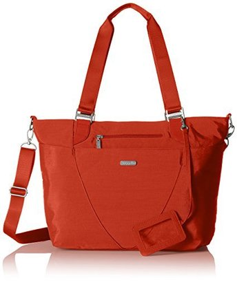 baggallini avenue lightweight tote bag with adjustable and removable crossbody strap