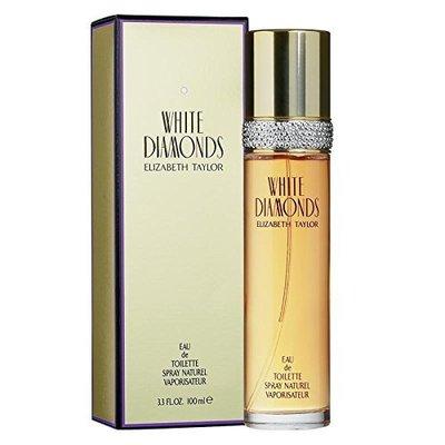 elizabeth taylor white diamonds eau de toilette spray for women 3.3fl.oz