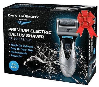 own harmony cr 900 series premium electric callus shaver for men