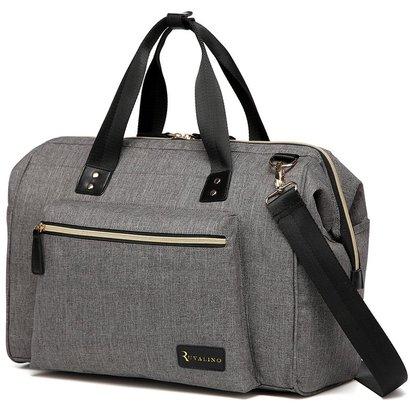 ruvalino multi-functional travel diaper bag, shoulder, messenger, tote bag with diaper changing mat