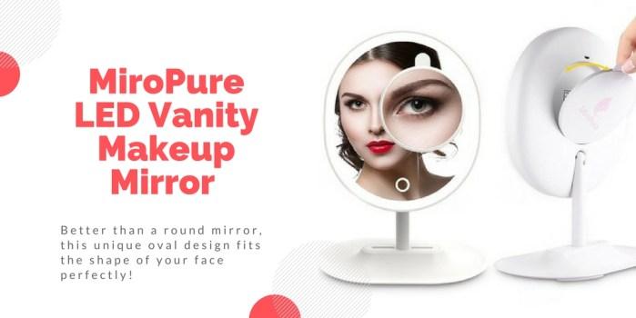MiroPure LED Vanity Makeup Mirror