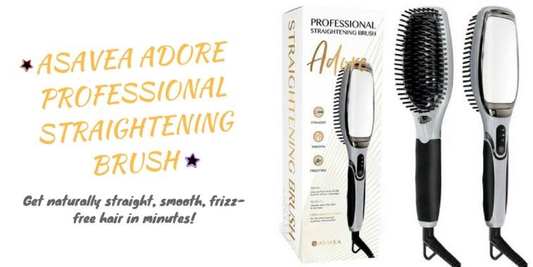 AsaVea Adore Professional Straightening Brush