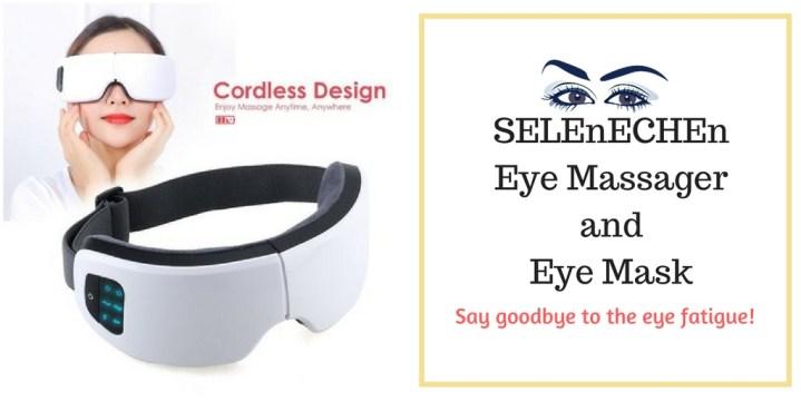 SELEnECHEn Eye Massager and Eye Mask