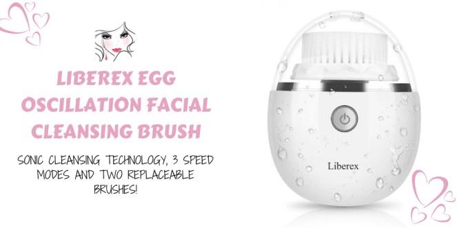 Liberex Egg Oscillation Facial Cleansing Brush