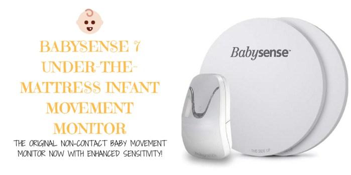 New Babysense 7 - Under-The-Mattress Baby Movement Monitor