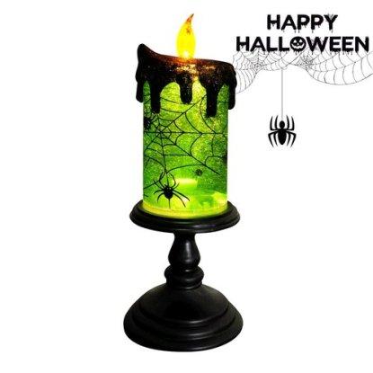 Halloween Decorative Snow Globe Candle by Eldnacele