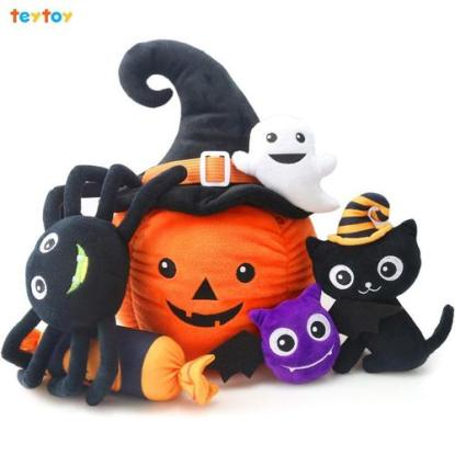 Teytoy My First Pumpkin Developmental Halloween Toy Set Ideal Halloween Gift for Children from 0 Months and Up