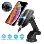 Touch Sensing and One Hand Operation Car Charger and Phone Holder by Letulu