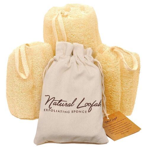100% Natural and Raw CraftsofEgypt Bath Loofah