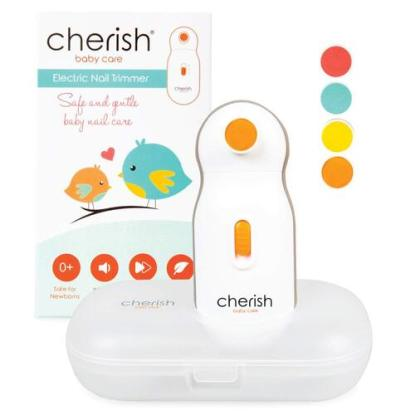 Electric 2 Speed Control Nail Trimmer for Baby by Cherish Baby Care