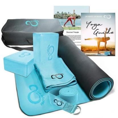 Live Infinitely 6 Piece Complete Yoga Kit