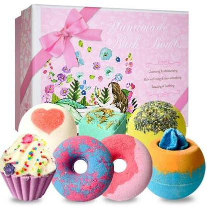 STNTUS INNOVATIONS Funny floating Bath Bombs with Fizz, bubbles