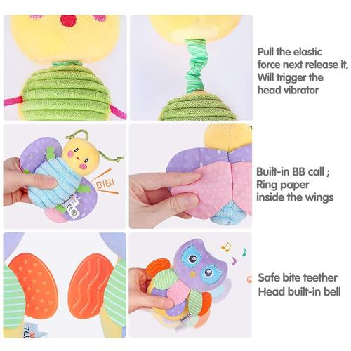 tumama cute and unique basket of plush cotton baby toys