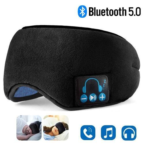 2 in 1 Bluetooth Sleep Headphones and Eye Mask by EverPlus