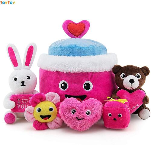 TEYTOY my first valentines soft plush toys for babies