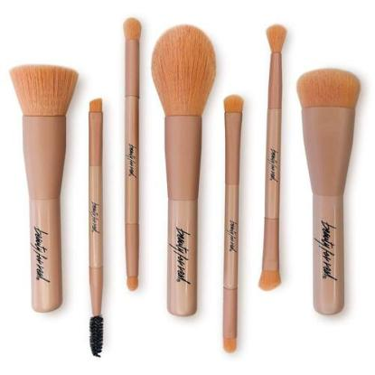 Beauty For Real Premium Synthetic Non-shedding Makeup Brush Set