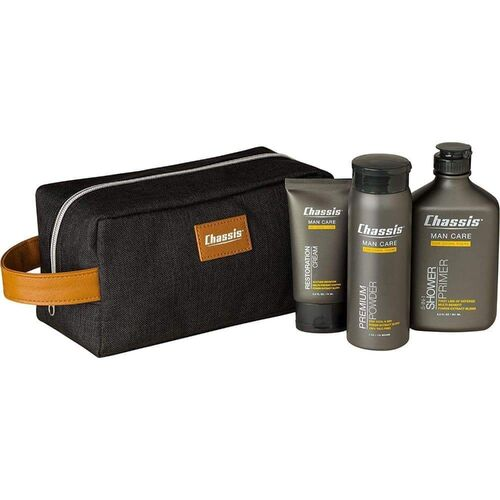 Chassis 3pcs Premium Men's Care Set included Toiletry Bag